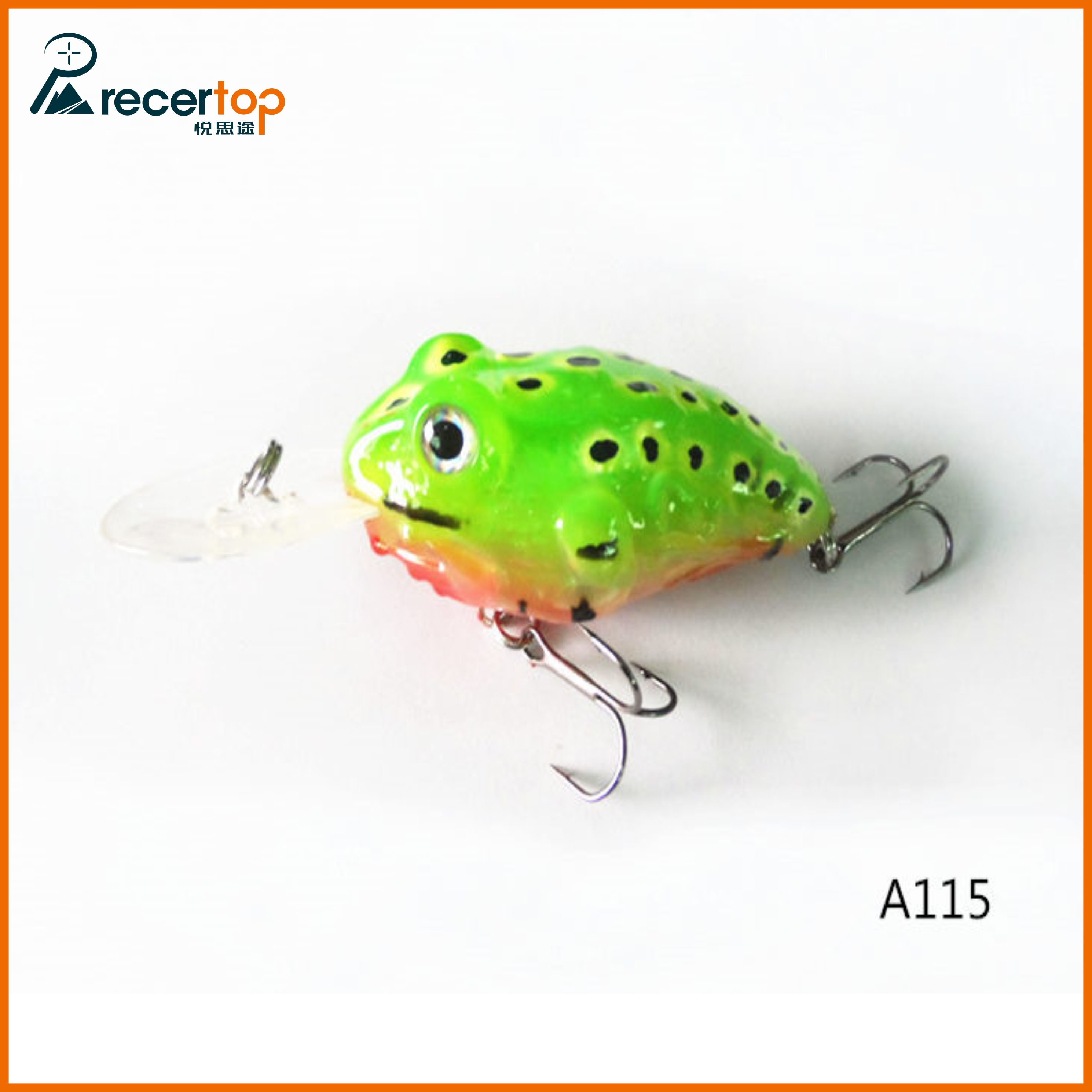 Recertop fishing lures baits hard soft lures for Hard and soft fishing